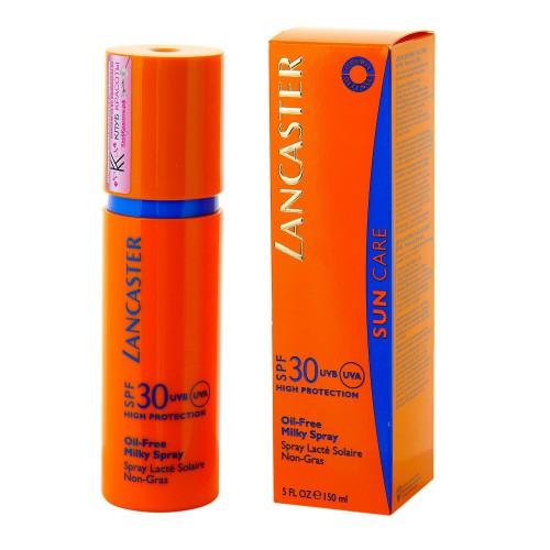 Ланкастер spf 30ml oil-free milky spray 150ml тестер 780,000