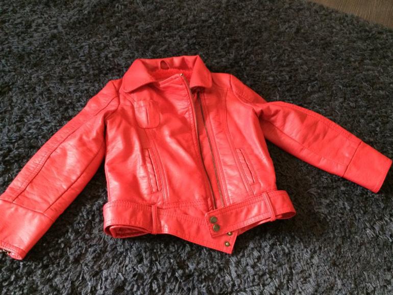 Купить Кожаную Куртку Детскую Зара