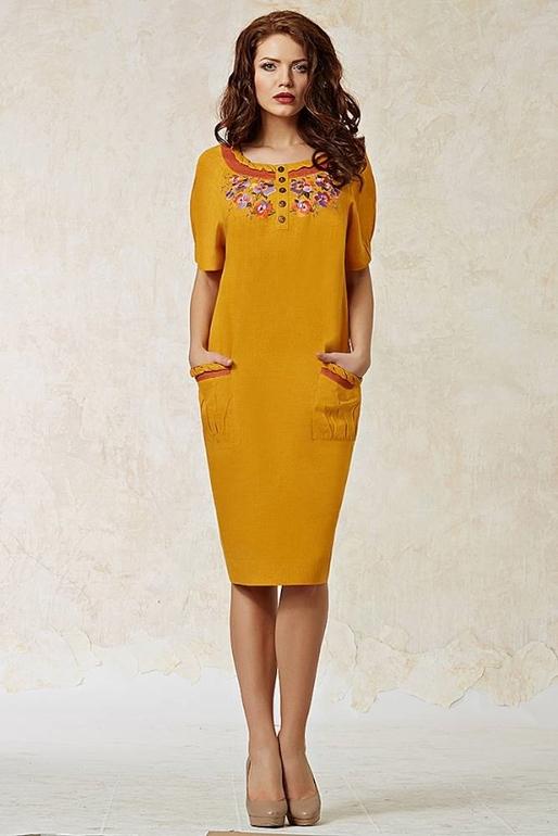 Платье женское прямое модели