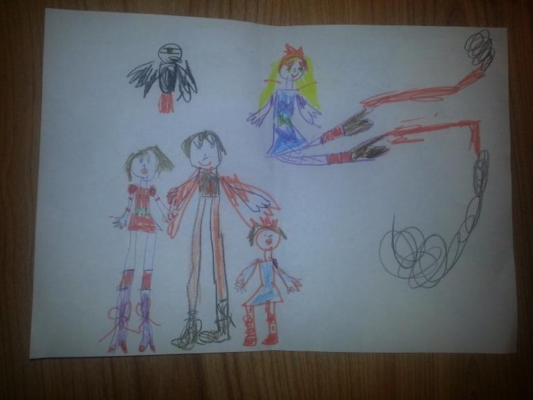 Рисунок ребенка - его внутренний мир!!!