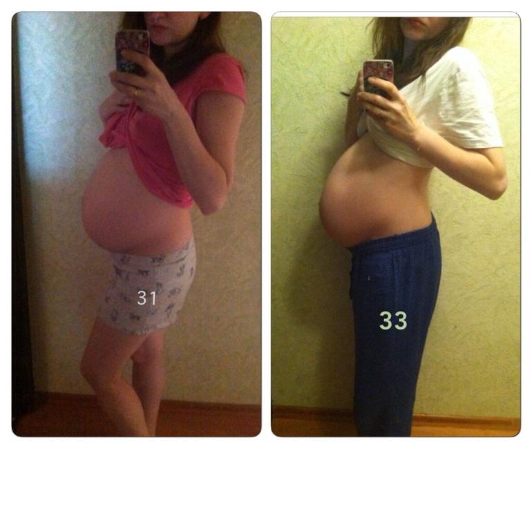 Как опускается живот у беременной фото 12