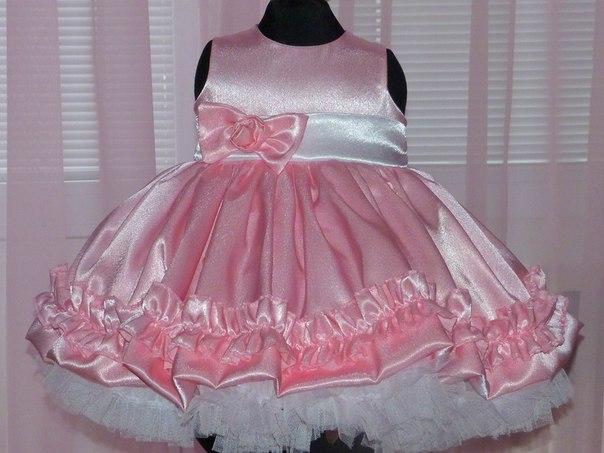 Как сшить пышное платье на новый год своими руками для девочки