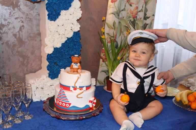 Цифра 1 на годик своими руками для мальчика в морском стиле фото 92