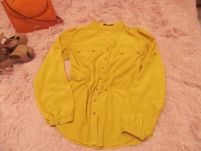 Лимонная Блузка В Спб