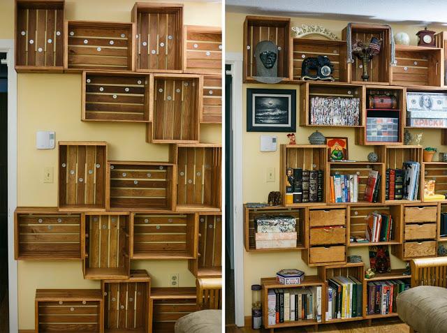 Как сделать книжный шкаф своими руками в домашних условиях 255