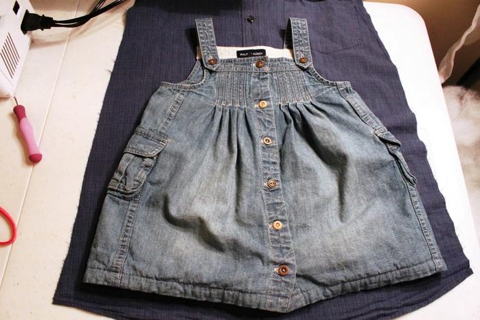 Класс  из джинса