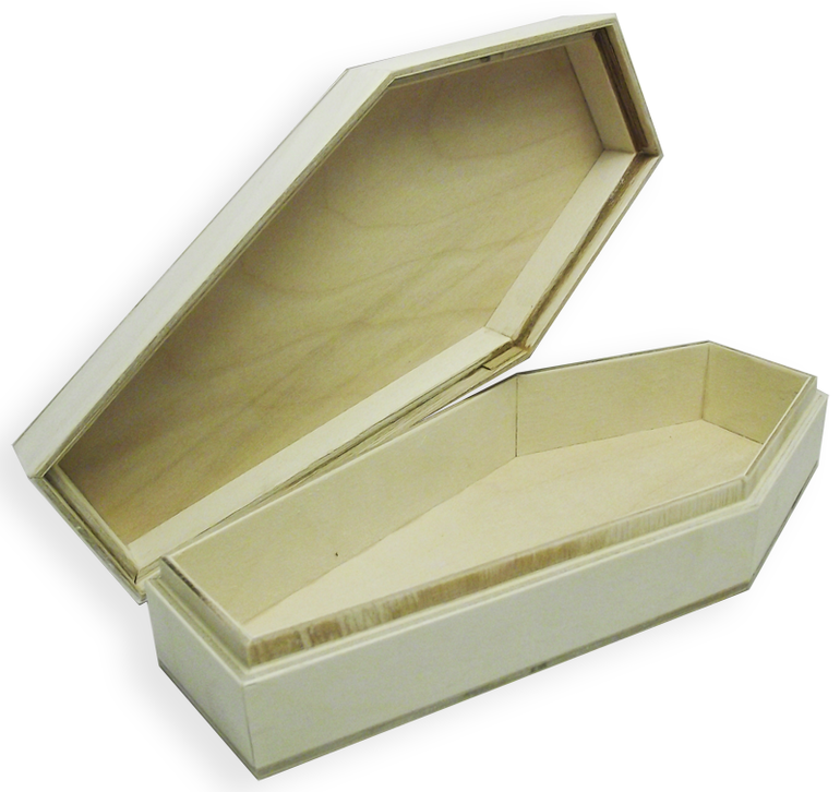 Шкатулка гроб своими руками 1