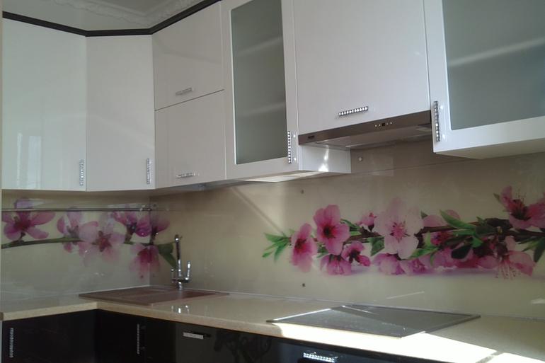 фото дизайн фартук на кухню