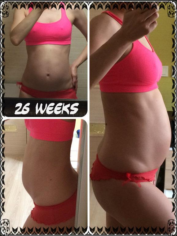 Живот на 25 неделе беременности маленький живот