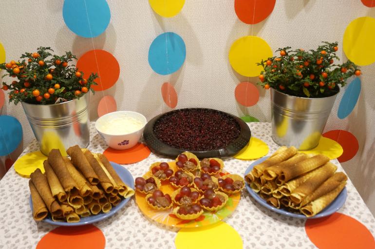 Сладкий стол на день рождения ребенка. Рецепты 100