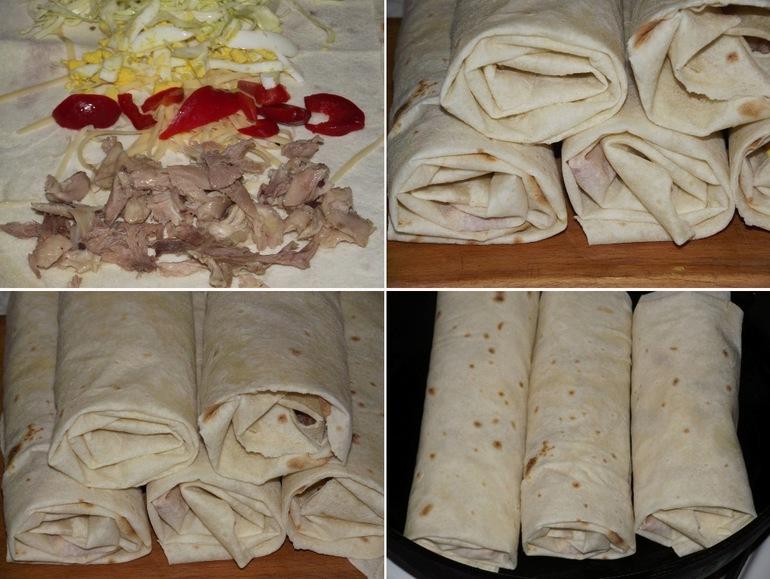 Как приготовить лаваш в домашних условиях рецепты с фото 505