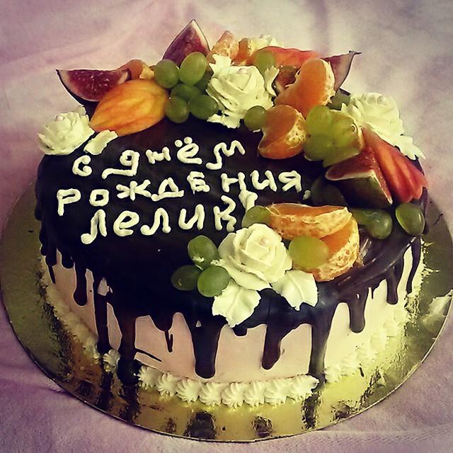 Торт с глазурью своими руками 3