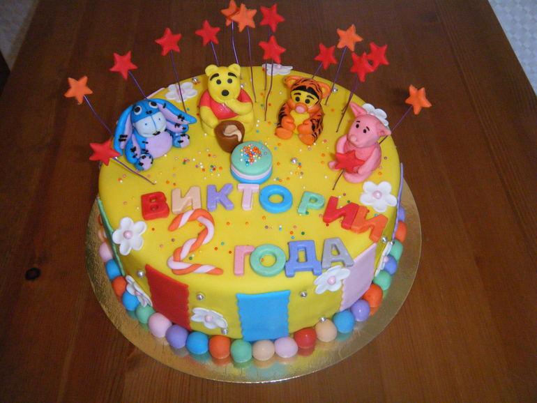 Торт Винни пух и его друзья