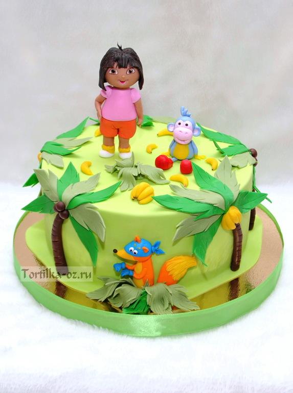 Торт даша-следопыт фото