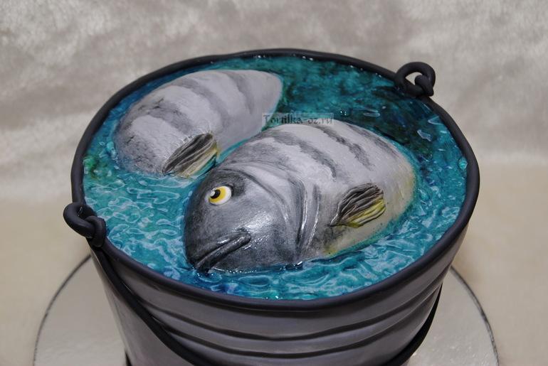 ведро рыбака