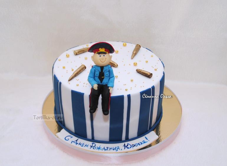 Торт для милиционера фото
