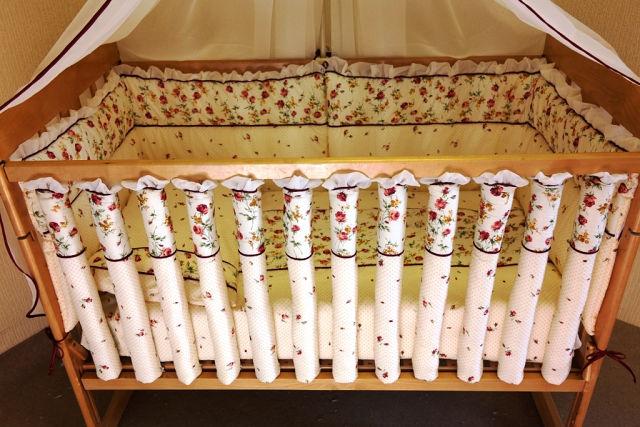 Фенс бамперы в кроватку своими руками с инструкцией и фото 82