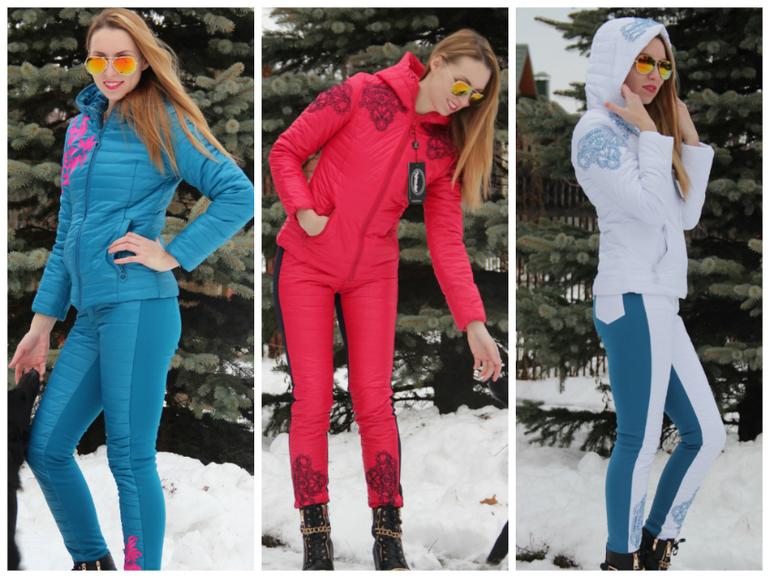 Женский Спортивный Костюм Зима