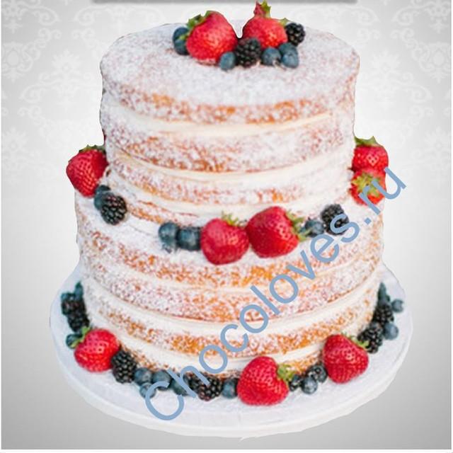 Двухярусные бисквитные торты рецепт с фото