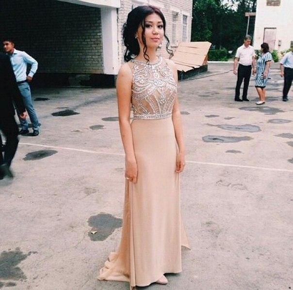 Платье на выпускной звезд