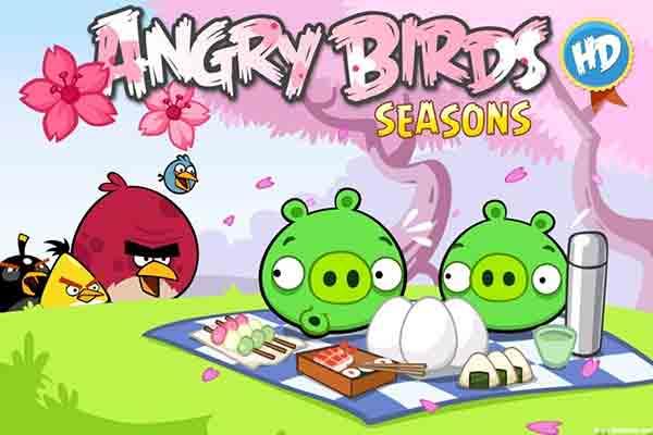 Для злых птичек наступает новый сезон - праздничный!Angry Birds Seasons анд