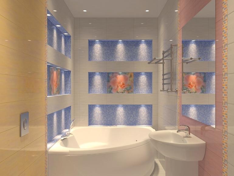 Плитка керама в ванной фото