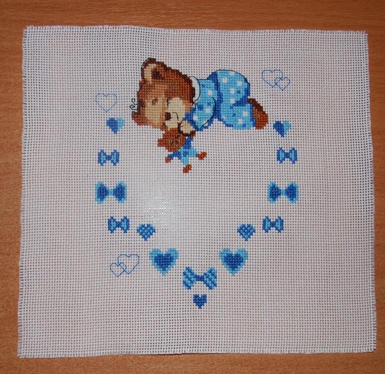 Вышивка для новорожденного фото 3
