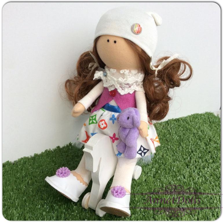 Куколка малышка мастер-класс