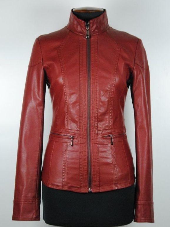 Куртки Из Кожзам Купить