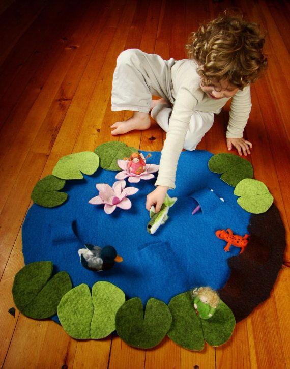 Игровые и развивающие коврики своими руками