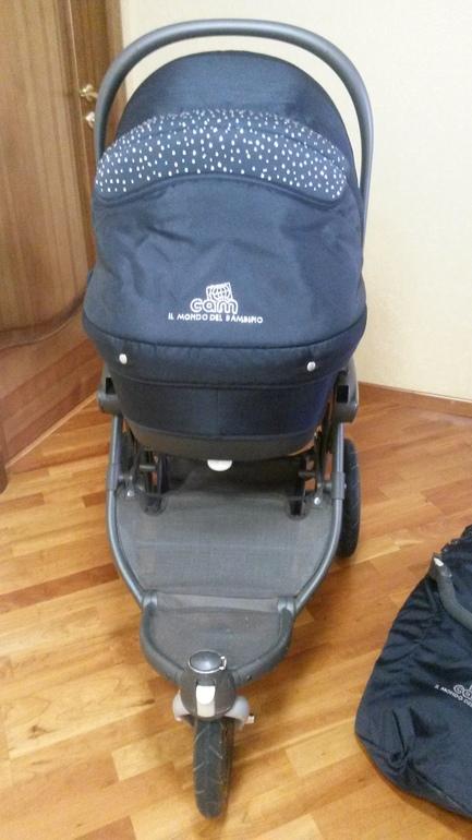 Детские коляски 3 в 1 cam