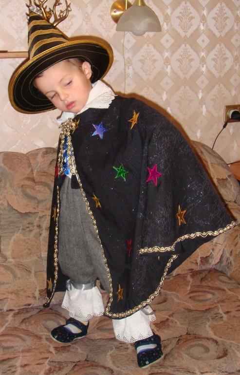 Сшить костюм фокусника для ребенка своими руками 7