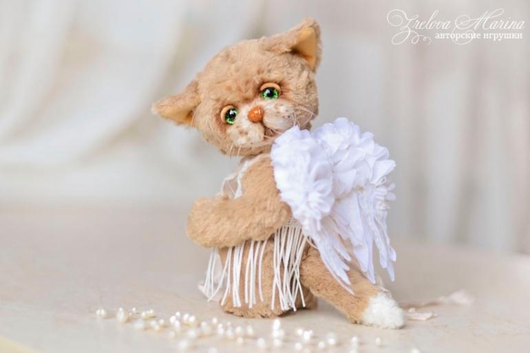 Кошечка с крылышками ангела :-)