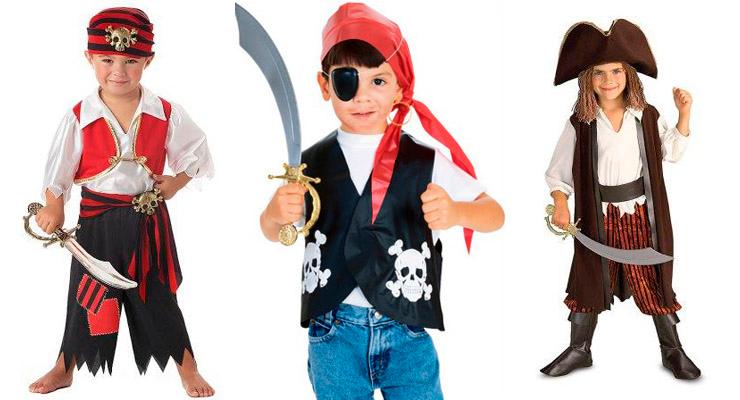 Костюм пирата своими руками детский