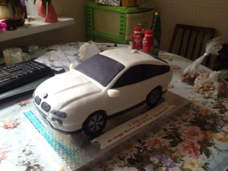 Как сделать маленькую машинку для торта 175