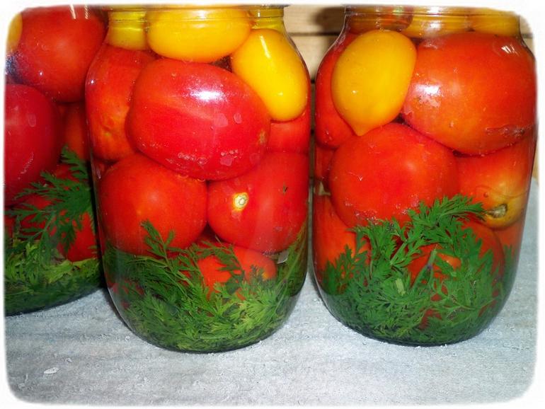 Рецепт маринованные помидоры с морковью