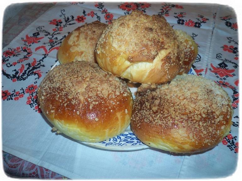 рецепт булочка ярославская