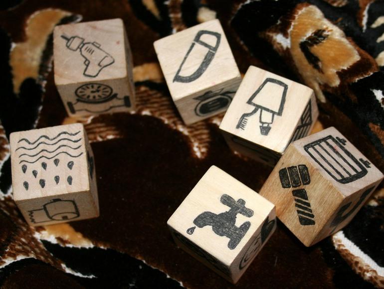 Кубики историй своими руками