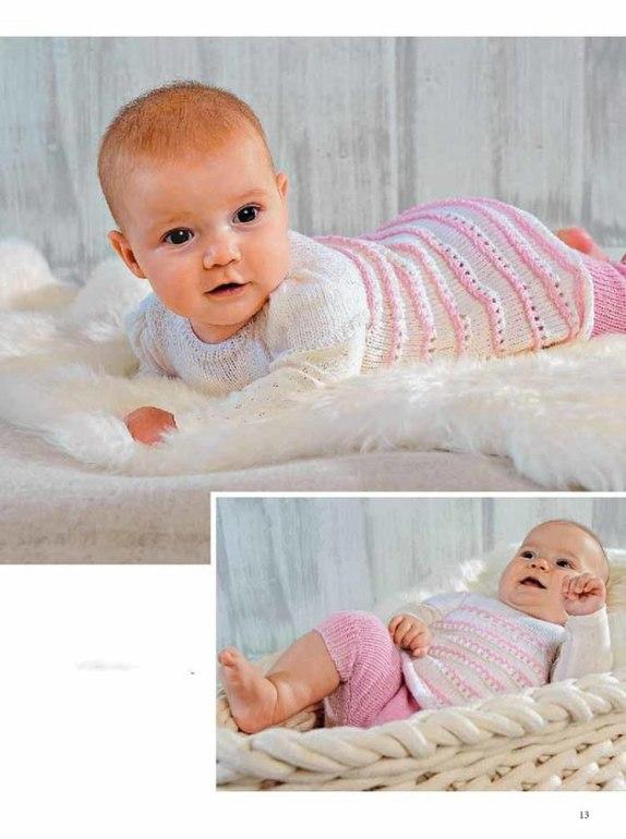 Вязание для малышей с рождения 9