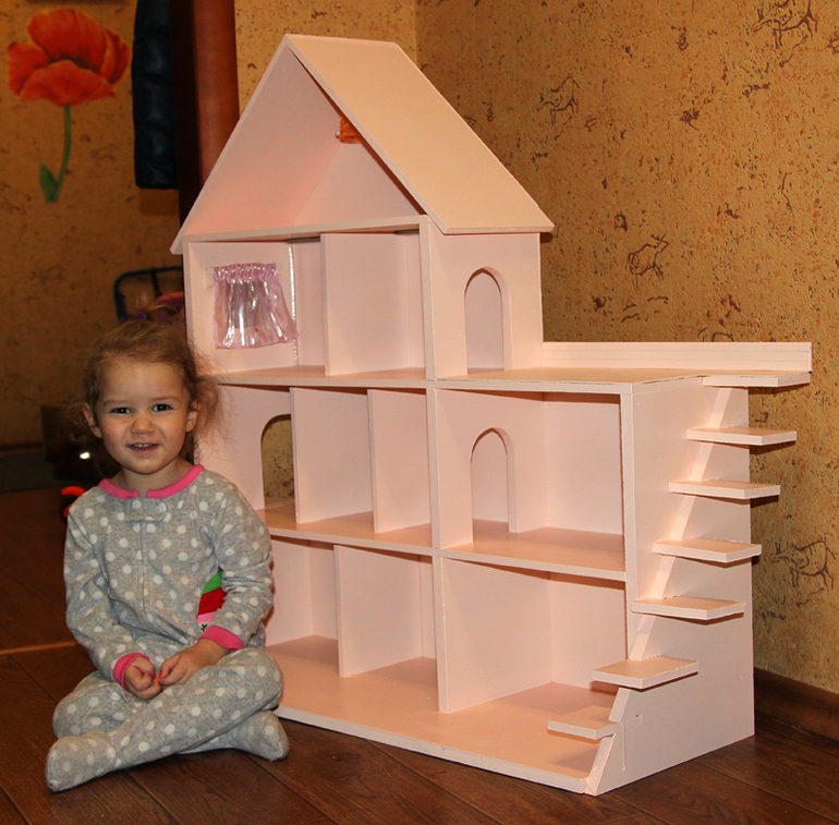 Sylvanian families домик своими руками