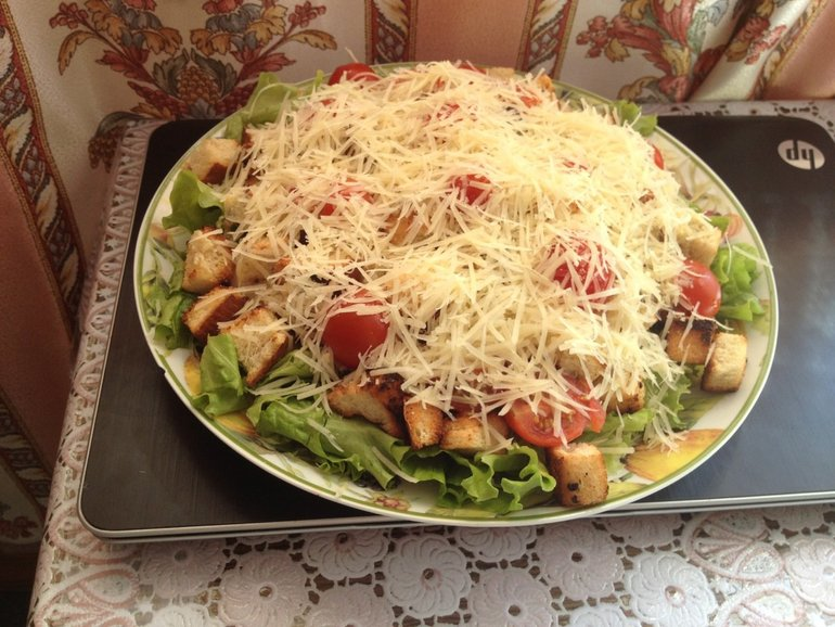 Салат быстро и вкусно рецепты фото