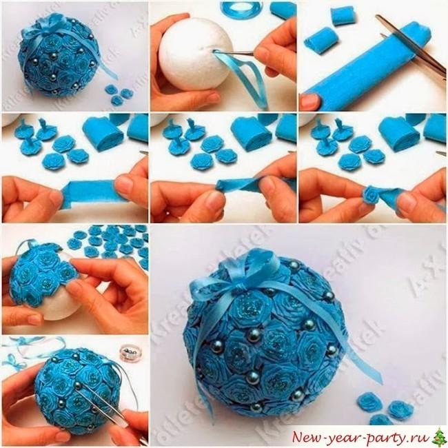 Новогодние шары из бумаги своими руками фото - Belbera.Ru