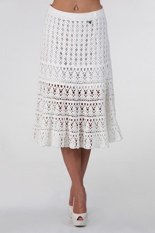 вязания юбки