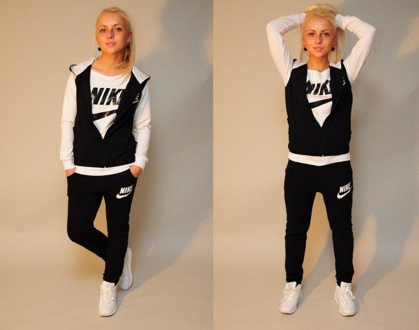 Фото спортивные костюмы с кроссовками женские