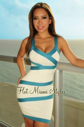 Хот майами стайл платья