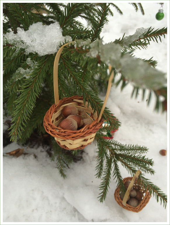Рождественский пир лесных зверят