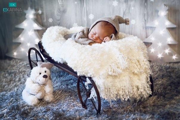 Сказочный фотопроек для новорожденных!