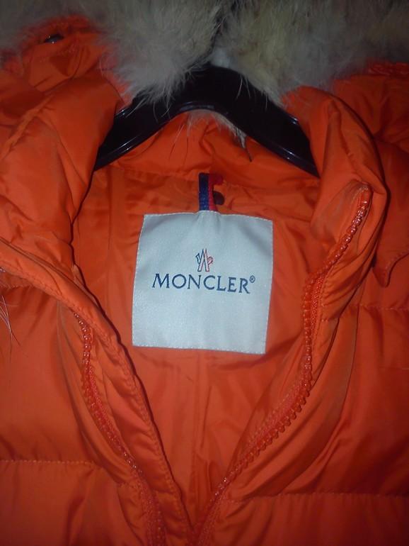 Moncler б/у размер 12/18 80 см, 5000