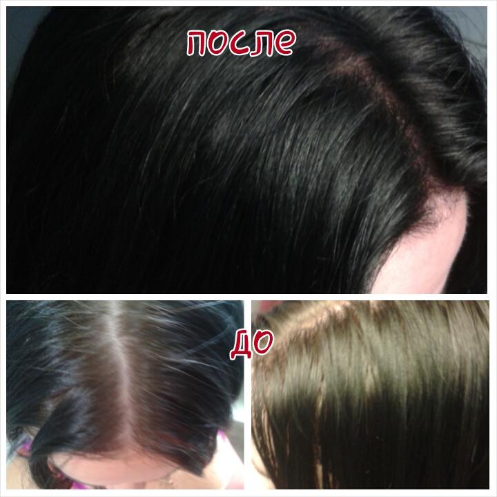 Краска для волос для отросших корней