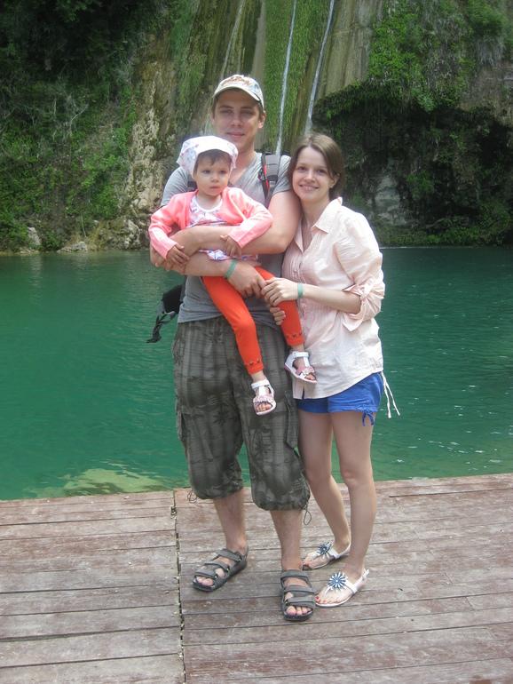 Наша первая заграничная поездка с семьей!